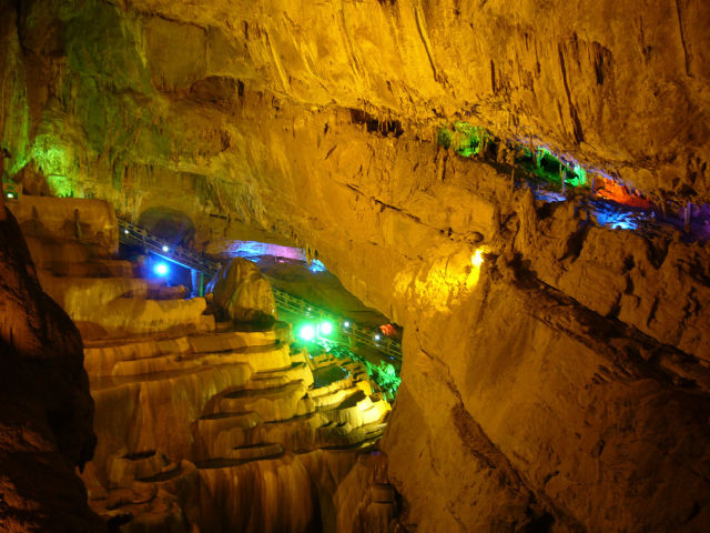 Beautiful and Colorful Caves