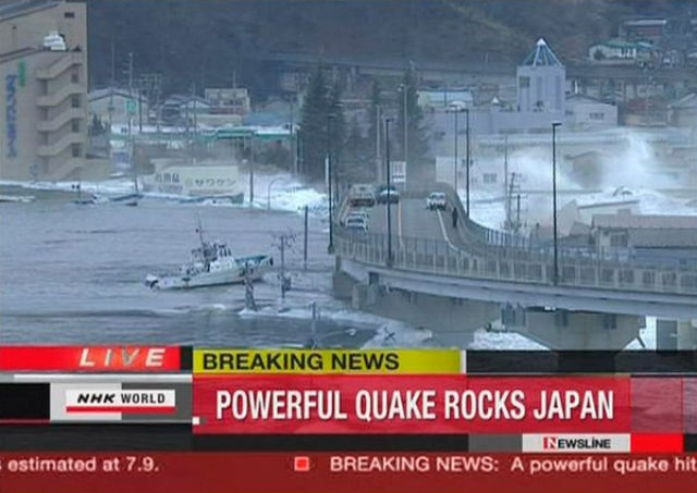 Powerful Earthquake in Japan