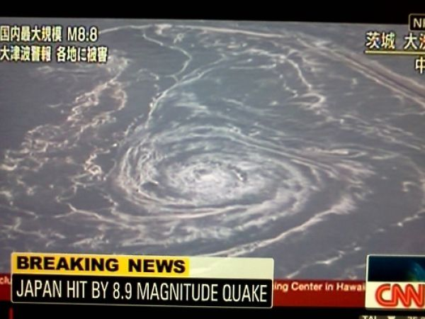Powerful Earthquake Followed by Tsunami in Japan