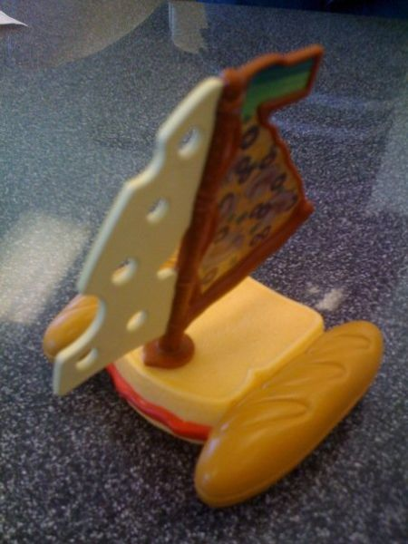 Tilted Tens: Weird Toys in a Meal