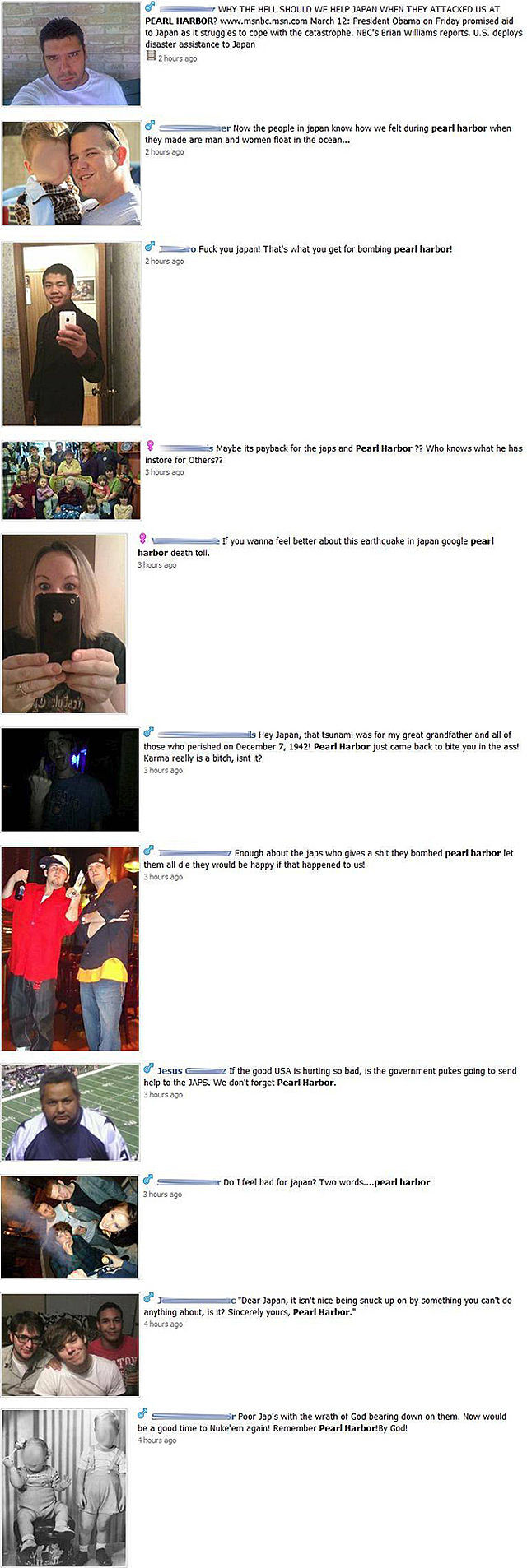 Jerks of Facebook Who Take on Japan