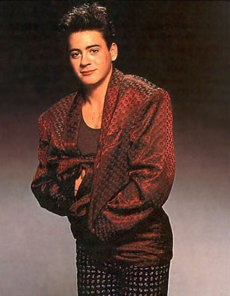 Fashions by Robert Downey Jr
