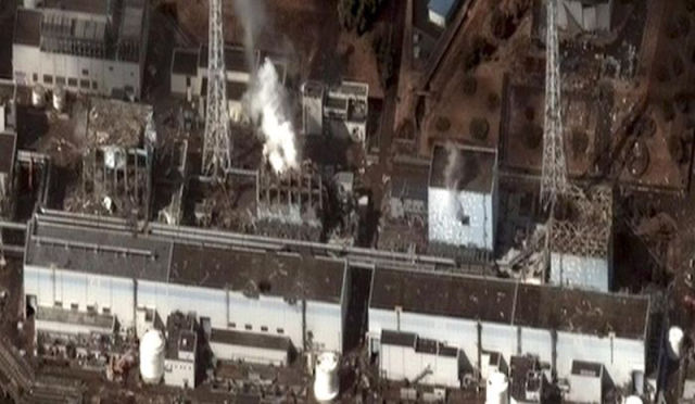 Fukushima Damaged Nuclear Power Plant