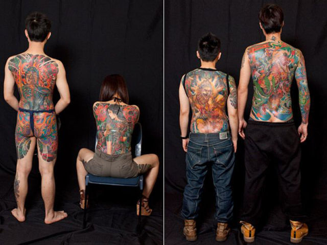 Festival Displays Unique Tattoos and Body Art