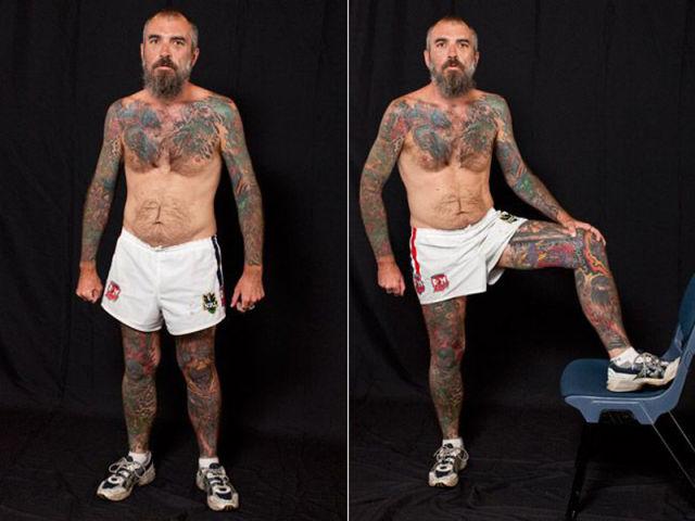 Festival Displays Unique Tattoos and Body Art