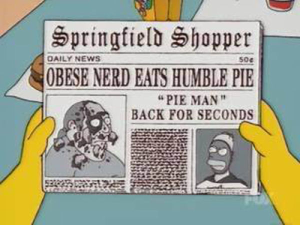 Hilarious Headlines from the Simpsons