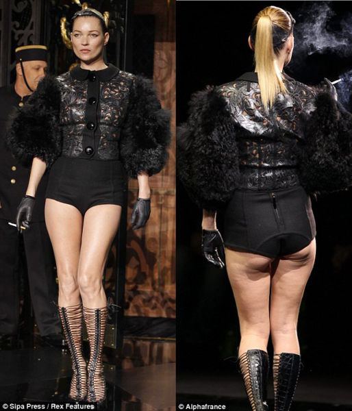 Butt Comparisons: Which One Belong to Kate Moss?