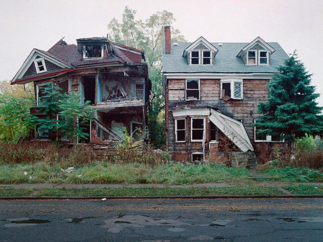 Abandoned Detroit Homes for Sale