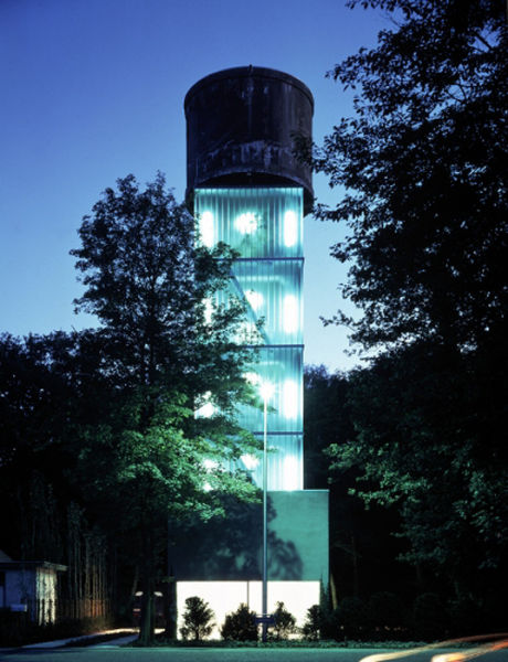 Actual Water Tower Homes