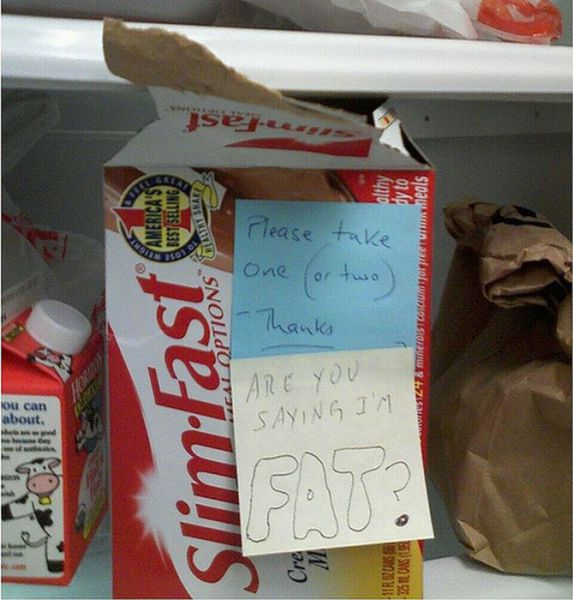 Don't Steal My Lunch: Hilarious Fridge Notes (25 pics ...