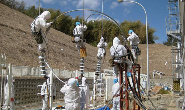 Exclusive: First Photos from Inside Fukushima Dai-Ichi Power Plant