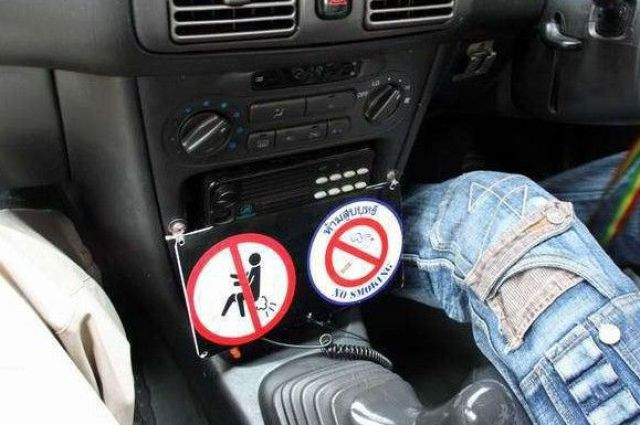 Rules You Should Follow in Thailand Cab