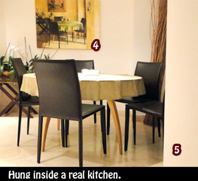This Kitchen Painting Will Freak You Out