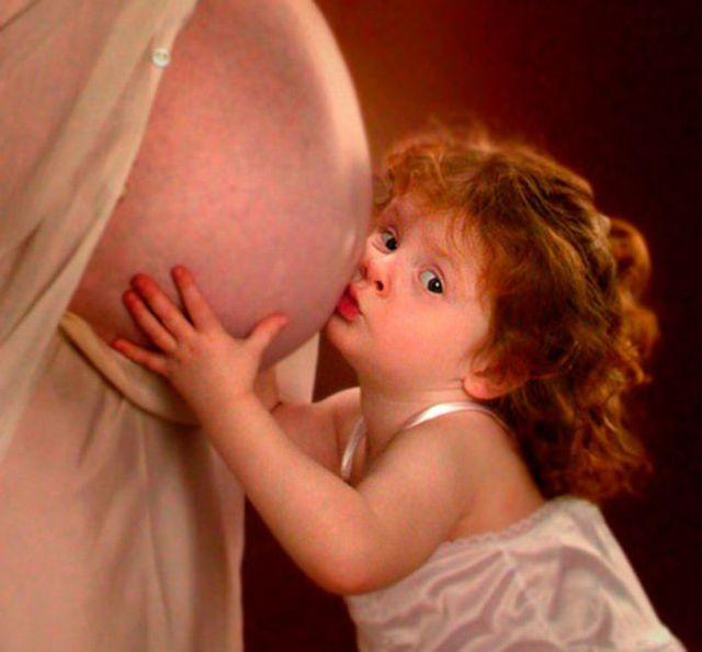 Weird Photos of Pregnant Women