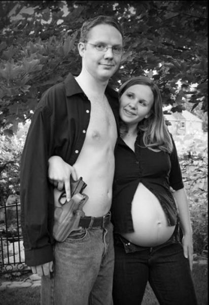 weird photos of 640 28 Weird Photos of Pregnant Women (34 pics)