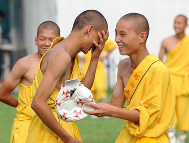 How Shaolin Monks Play Soccer