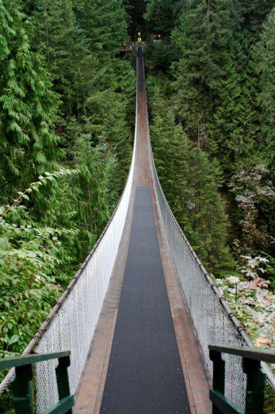 Amazing Capilano Suspension Bridge