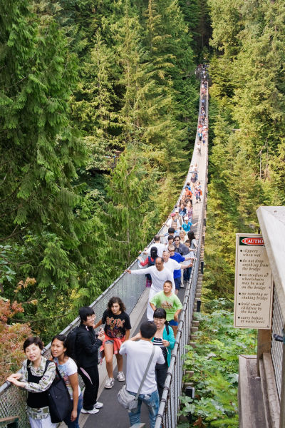 Amazing Capilano Suspension Bridge