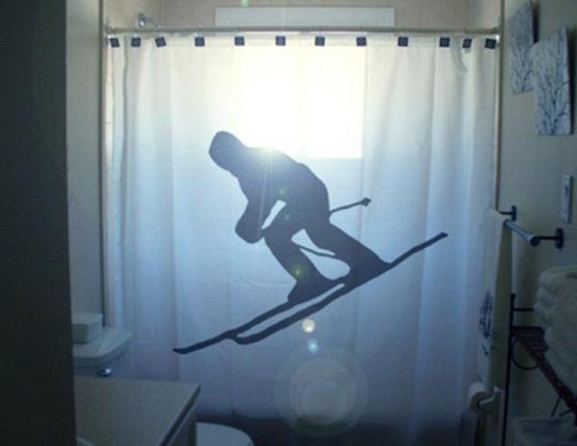 Cool and Creative Bathtub Curtains