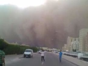 Impressive Videos of the Kuwait Sandstorm