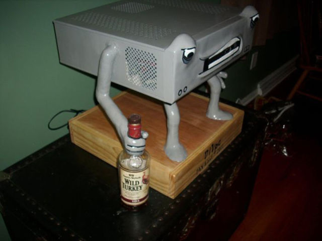 DIVpc is a Heavy Drinking Computer With Attitude