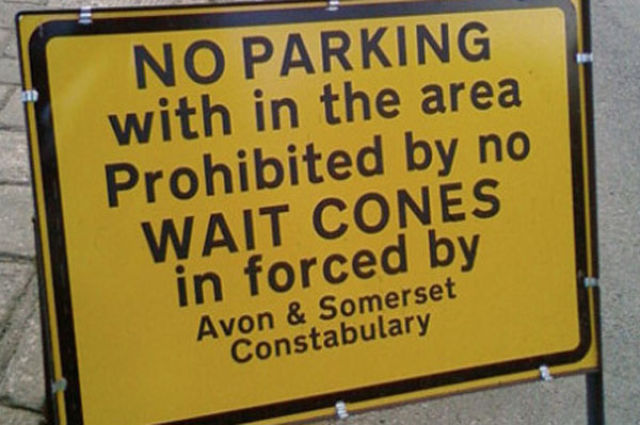 Funny Ridiculous Signs
