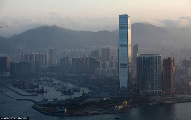 The Hong Kong Ritz Carlton is the Tallest Hotel on the Planet