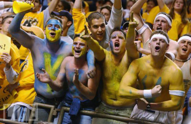 Funny Basketball Fans
