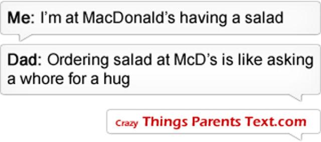 When Parents Text Their Kids