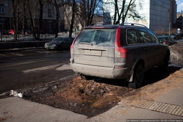 Russians and Their Roads