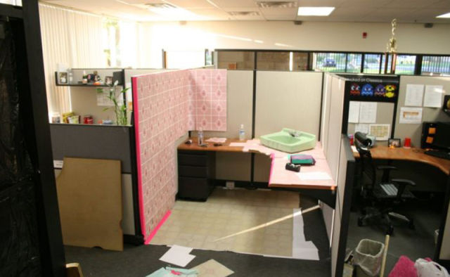 A Unique Office Prank