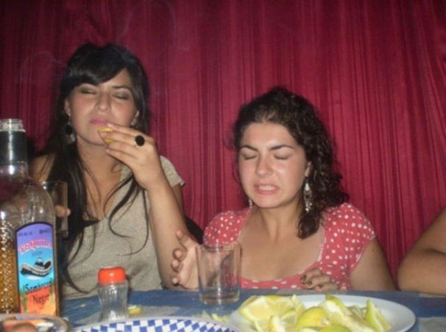 Hilarious Tequila Faces