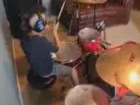 8-Year-Old Kid Plays Drums like a Pro