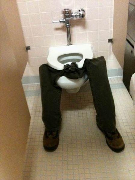 Two Toilet Pranks