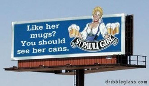 Brazen Billboards from Canada