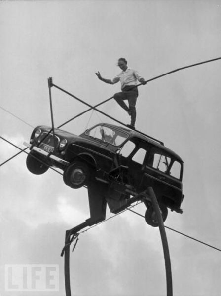 Tightrope Nuts Through History
