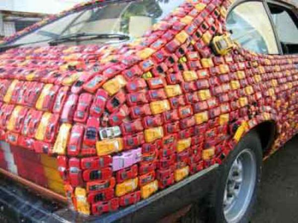 Top Tens: You Covered Your Car in What?!?