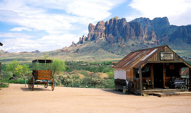 Ghost Towns in America