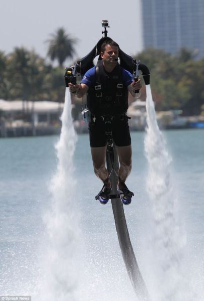 Oldie of the Day: Amazing Water-Powered Jetpack