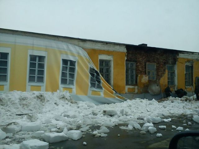 How they Make Building Renovation in Russia