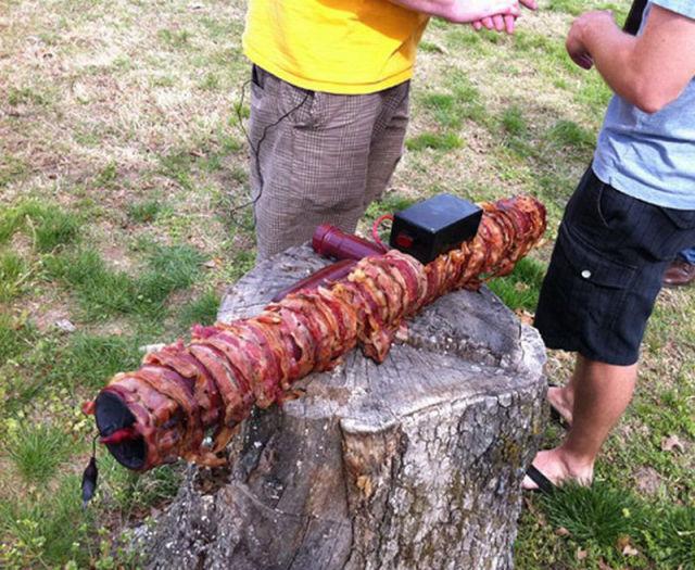 WTF Bacon Bazooka