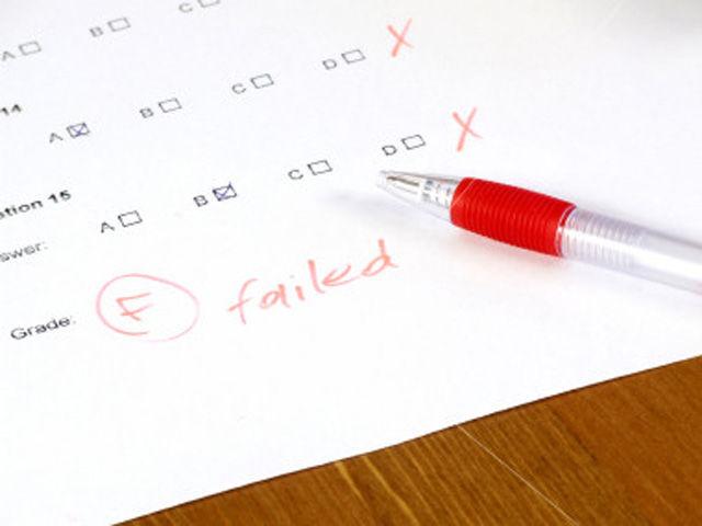 I Failed a Test...