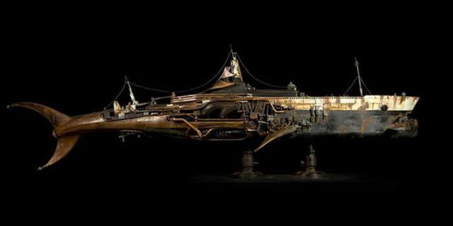 Amazing Steampunk Sculptures