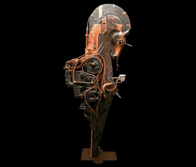 Amazing Steampunk Sculptures