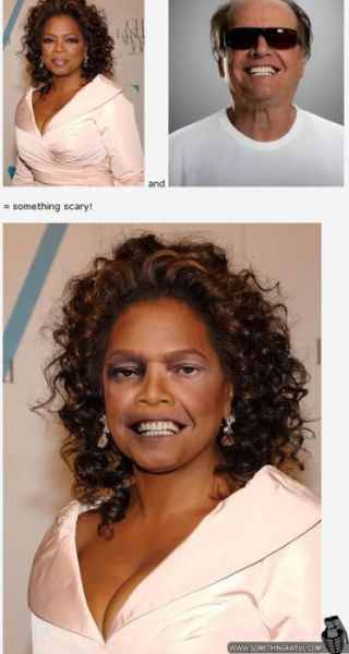 Scary Celebrity Face Pairings That Will Make you Cringe