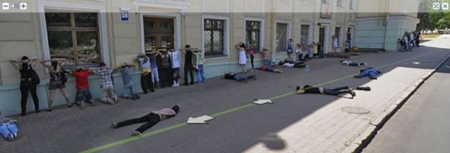 Russian Google Maps Took Some Scary Pictures