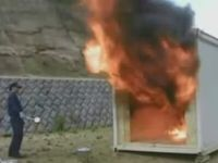 Japan Invents Throw-able Fire Extinguishers