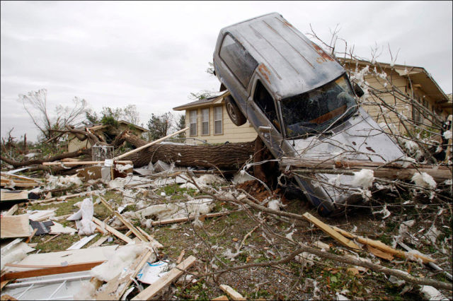 Devastating North Carolina Tornado Pictures