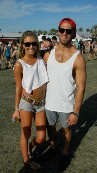 Coachella Music Festival Half Naked Hot Young White -3339
