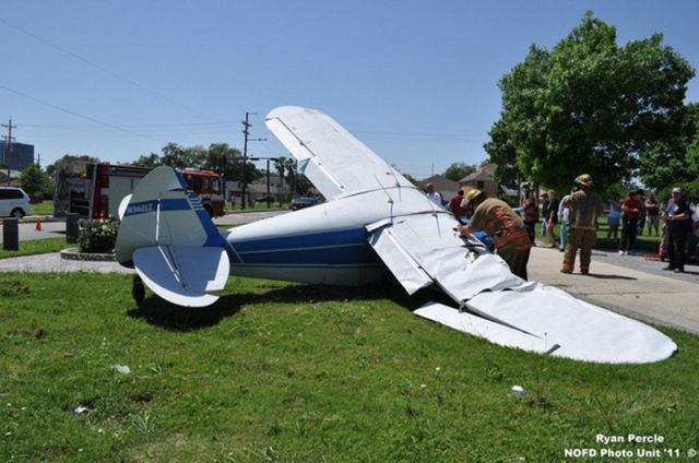 Tragedy Averted in New Orleans Plane Crash